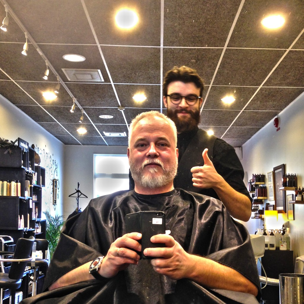 at Inglorious Barbers