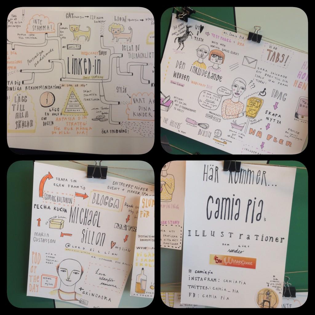 Camia PIAs illustrationer