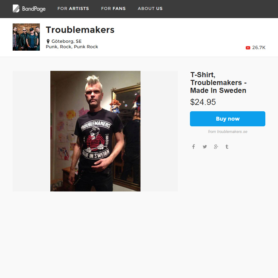 Troublemakers Merch